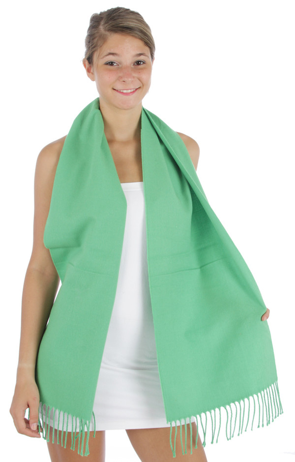 Monogrammed Cashmere Feel Winter Scarf