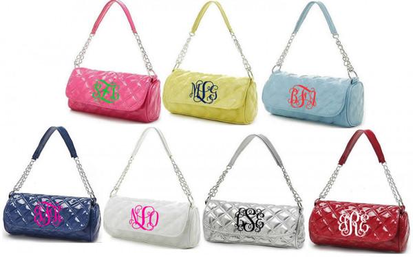 Monogrammed Grace Shoulder Bag  www.tinytulip.com