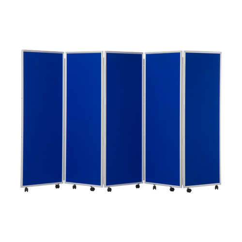 Mobile Concertina Folding Office Screens Woolmix