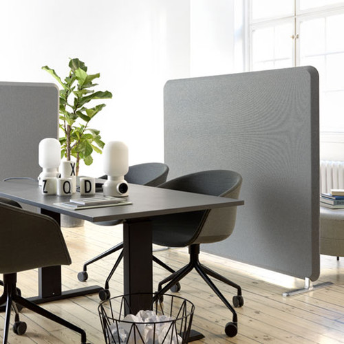 Domo Floor Acoustic Office Divider