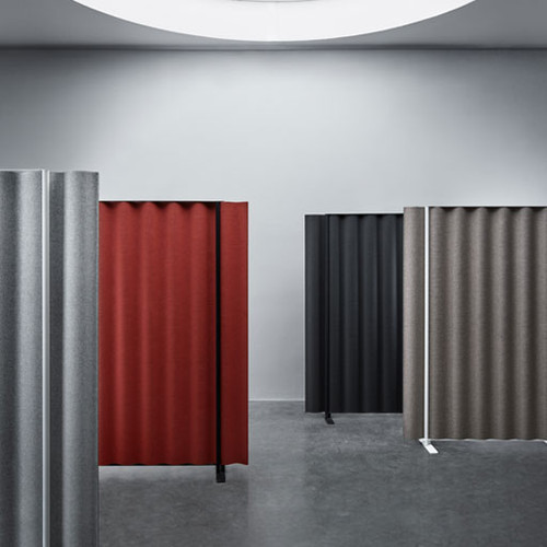 Scala Acoustic Office Divider