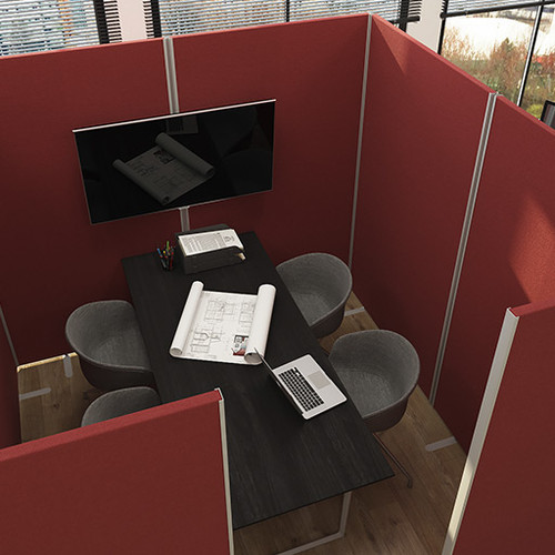 Office Partition Screen Enclosures