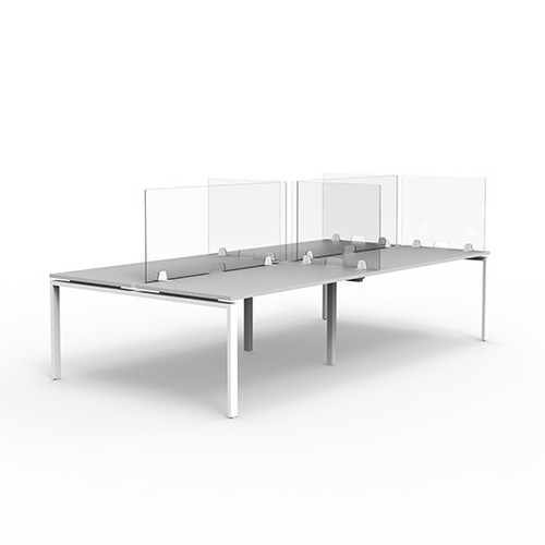 ISO Desk Mounted Glazed Screen