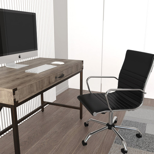 Chester Boutique Home Office Desk With Integrated Drawer and Floor Levelling Feet
