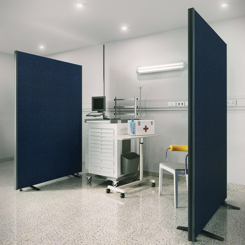 24 Hour Express Delivery Floor-standing Office Partition Screen