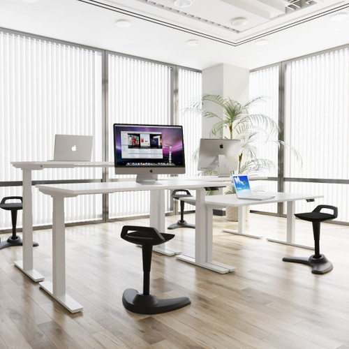 Air Height Adjustable Sit-Stand Ergonomic Office Desk