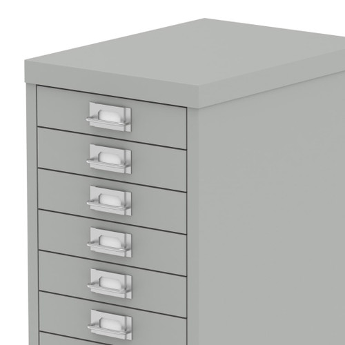 Bisley Qube Steel 10 Multidrawer Office Storage Cabinet