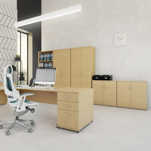 Impulse 600 Desk High Office Cupboard