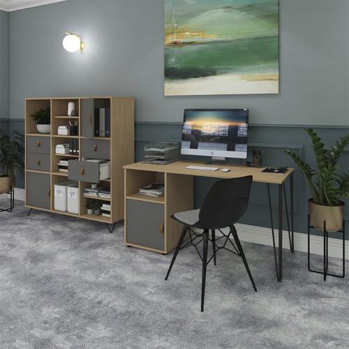 TIKAL desk by Dams Ergonomic Retro Design Customisable storage units
