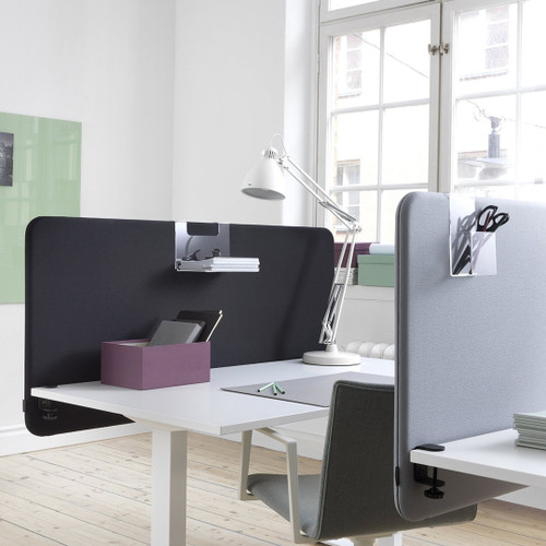 Softline 30 table screens modesty panel table dividers for office space