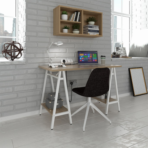 The Pella workstation turns dayroom furniture into your new creative corner.