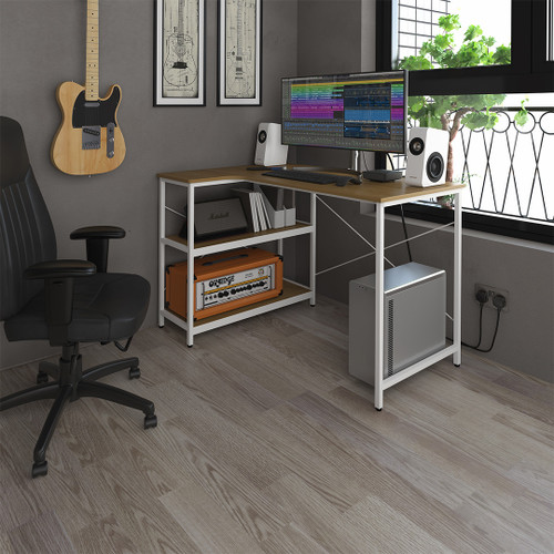 The Gondar workstation ensures inspiring storage opportunities at your reach.
