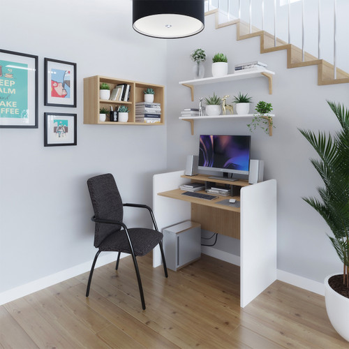 The Bagan workstation upgrades your study room with comfort and privacy