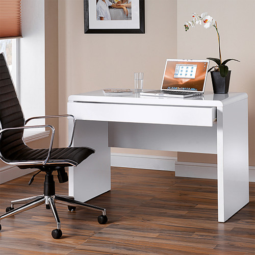 The Luxor desk workstation brings a touch of style to your study room;