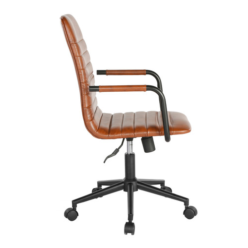 The Beat executive chair brings a retro aura to your office.