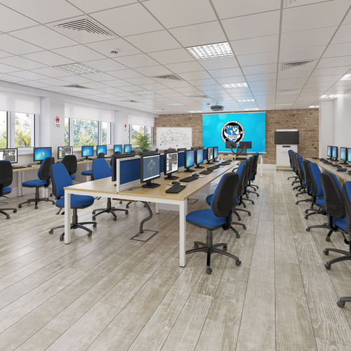 Aluminium Framed Fabric Screens | Office Space Dividers | Desk Partitions | Sound Absorption | Express Delivery in 48 Hours