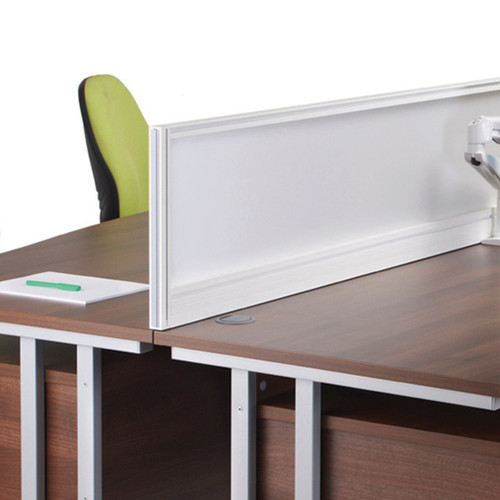 Aluminium Frame Glazed Screens | Office Space Partition | Privacy Desk Dividers | Express Delivery in 48 Hours