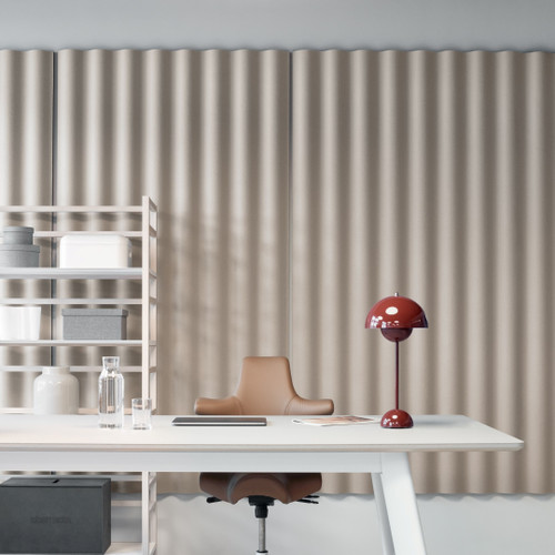 The Abstracta Scala can be integrated in any interior, whether your home, office, retail or hospitality business - white.