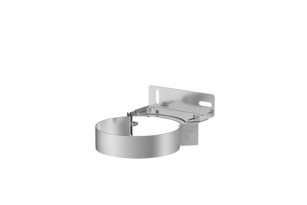 Stainless Steel Gas Fire Adjustable Wall Bracket 100-150mm