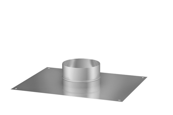 Stainless Steel Gas Fire Air Tight Top Plate 100-150mm
