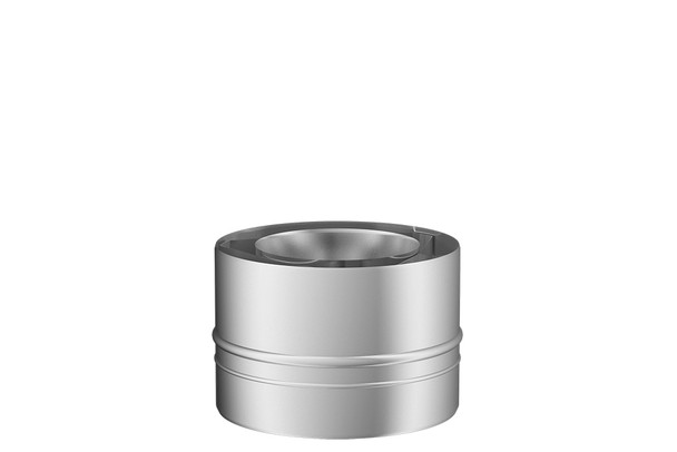 Stainless Steel Gas Fire Adapter Type B 100-150mm