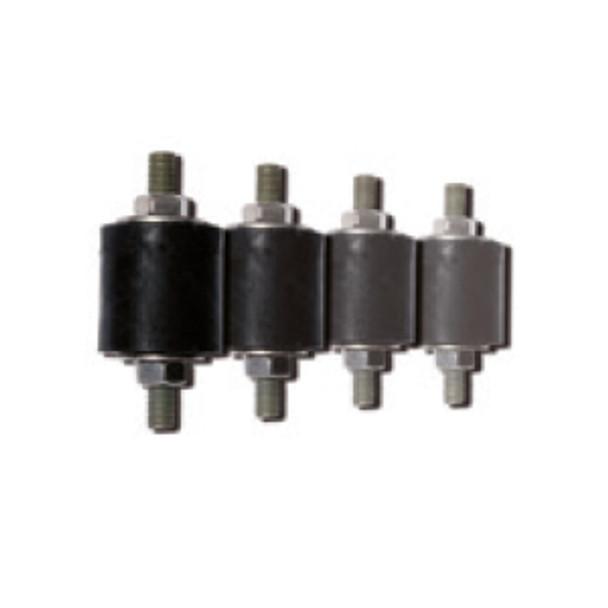 Vibration dampers for flanges