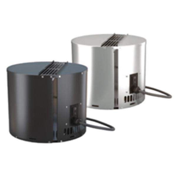 Vertical discharge draftbooster chimney fan