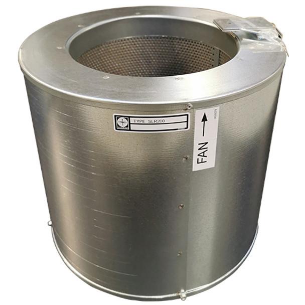 Silencer for TPFRSG200, L=280 mm