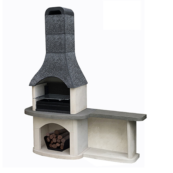 Masonry Sorrento Barbecue with Side Table