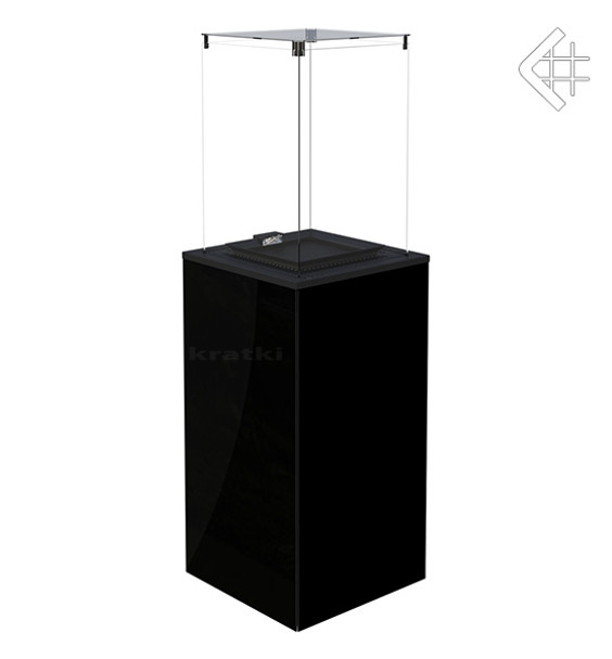 Mini Patio Heater Black