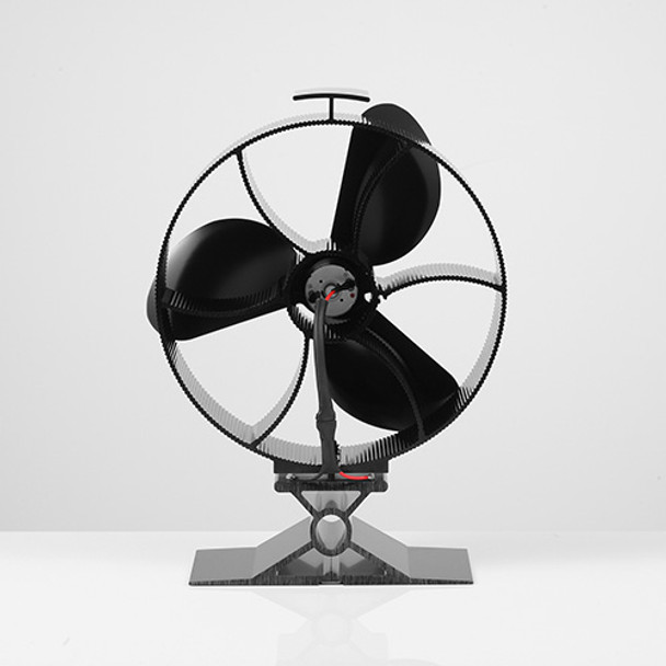 3 Blade Heat Powered Stove Fan