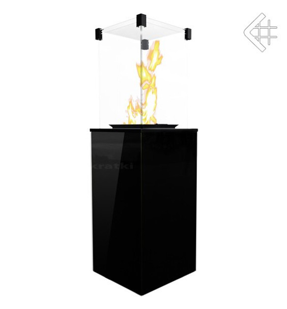 Gas Patio Heater Black