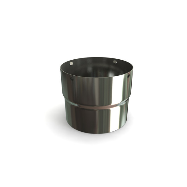 """8"""" Push Fit Stove Flue Pipe Adapter"""