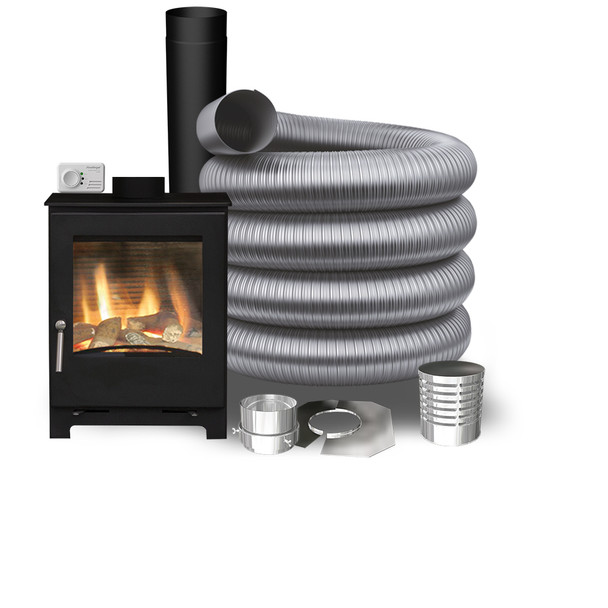 Woodford Natural Gas Stove - Basic Pack 2