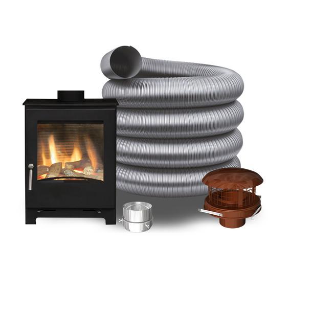 Woodford Natural Gas Stove - Pot Hanging Pack 1