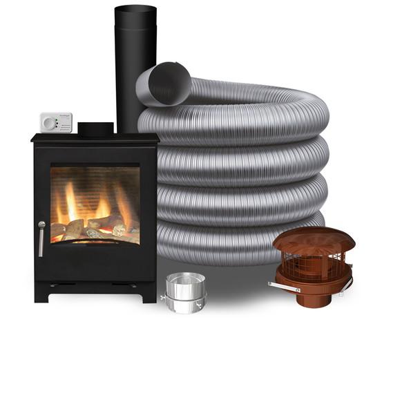 Woodford Natural Gas Stove - Pot Hanging Pack 2