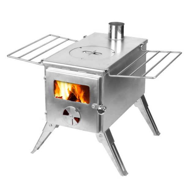 Stainless Steel Camp Stove