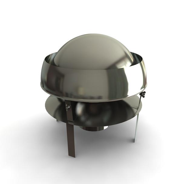 "5"" Mini Anti-Downdraught Pot Hanger Rain Cap"