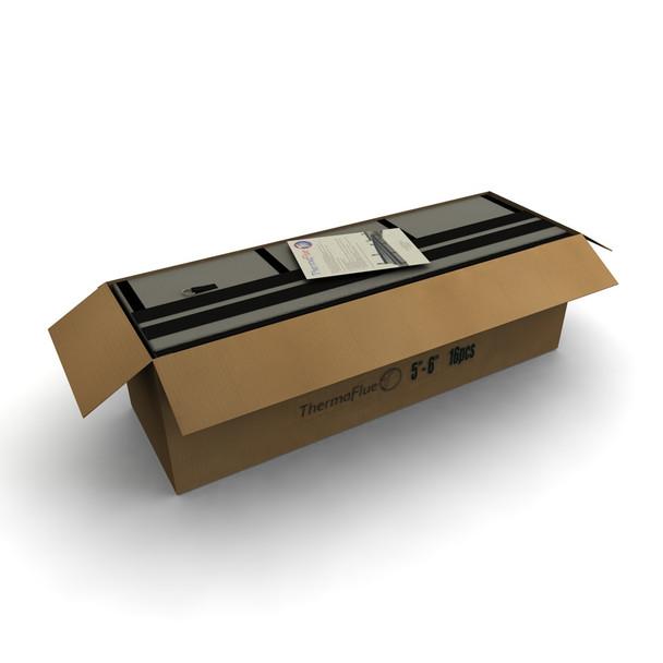 "7"" - 8"" ThermaFlue Insulation Sleeve Box of 12"