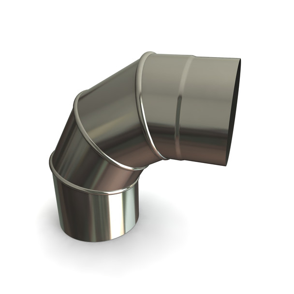 """6"""" Stainless Steel Adjustable Bend 0-90 Degrees"""