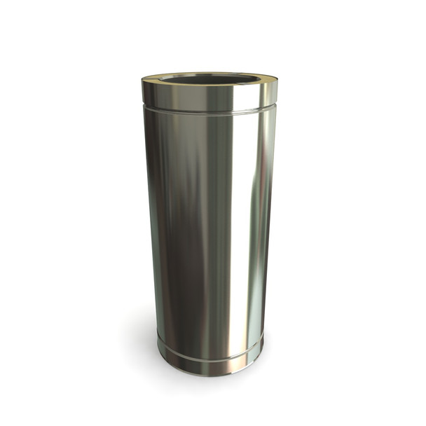 """6"""" 500 mm Stainless Steel Twin Wall Length"""