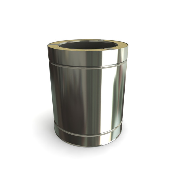 """7"""" 250 mm Stainless Steel Twin Wall Length"""