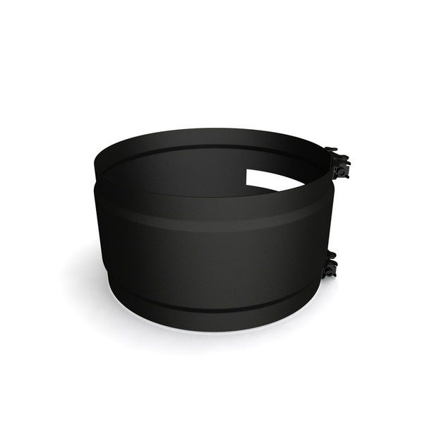 """6"""" Structural Locking Band Black Twin Wall"""