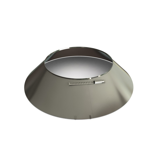 """6"""" Storm Collar Stainless Steel Twin Wall"""