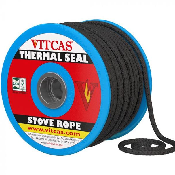 Vitcas Black Rope Roll of 50m