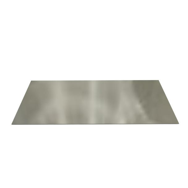 Register Plate Plain 1000mm x 400mm Galvanised Steel