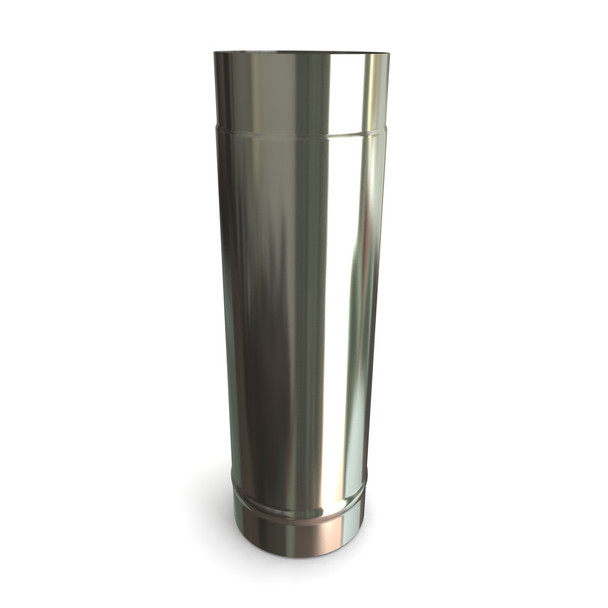 """6"""" Stainless Steel Stove Flue Pipe L500"""