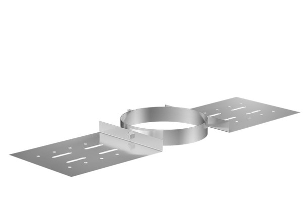 Stainless Steel Gas Fire Roof Support 100-150mm