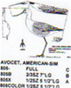 American Avocet Standing Carving Pattern showing the Avocet in a standing position with a top, side and front profile.