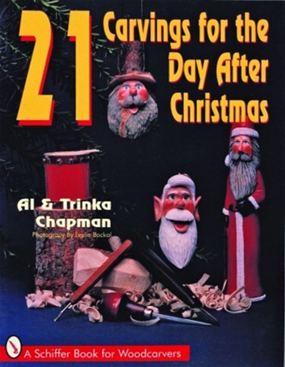 Cover of 21 Carvings for the Day After Christmas.